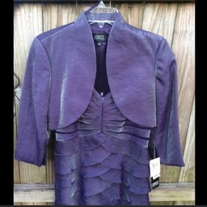 Adrianna Papell dress with jacket